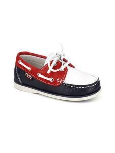 Pablosky scarpa da barca in pelle