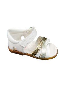 Pablosky sandalo da bambina primi passi con velcro