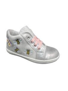Pretti Shoes scarpa primi passi con farfalle e api ricamate