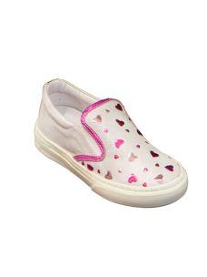 Pretti shoes scrpa slip on con cuori