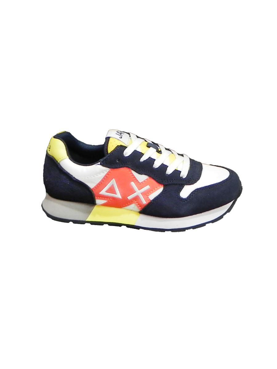 Sun 68 sneakers con lacci logo grande laterale