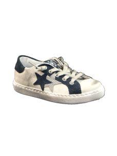 Two stars sneakers bassa invecchiata