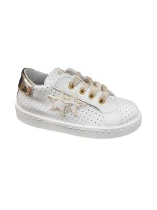 Two Stars sneakers bassa forata in pelle