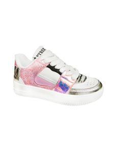 Pyrex scarpa bassa multicolor con lacci