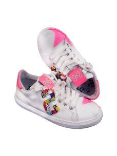 Two Stars sneakers bassa femmina con perline colorate