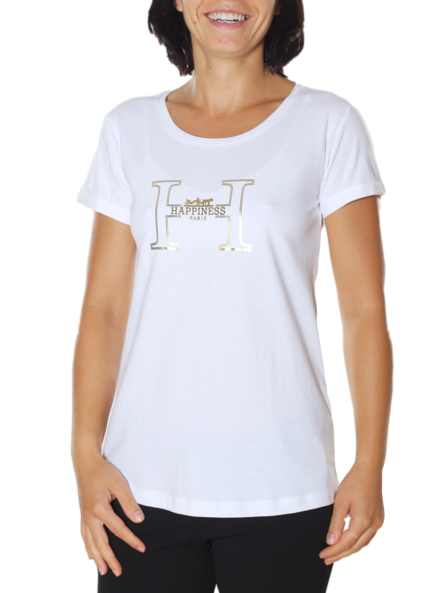 T-Shirt Happiness Donna Splendida Laminated