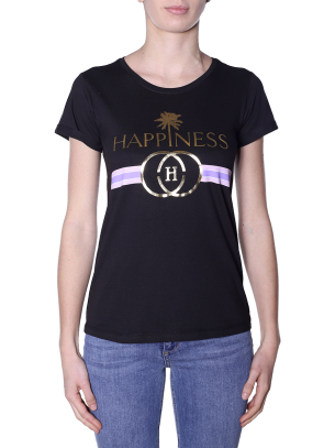 T-shirt Happiness Donna Splendida Laminated Spring/Summer 2019