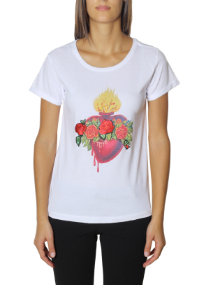 T-Shirt Happiness Donna Splendida Patch