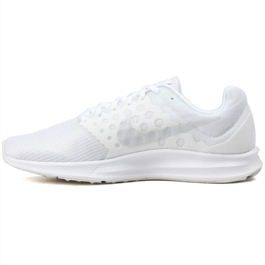 Nike Downshifter 7, Scarpe Running Uomo, Bianco (Blanc/Platinepur), 40 EU