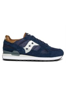 SAUCONY SHADOW NAVY/BROWN