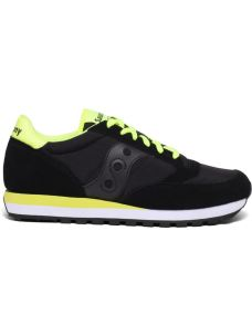 SAUCONY JAZZ BLACK-CITRON