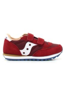 SAUCONY JAZZ DOUBLE RED/BLUE/TAN