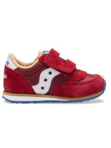 SAUCONY BABY JAZZ RED/BLUE/TAN