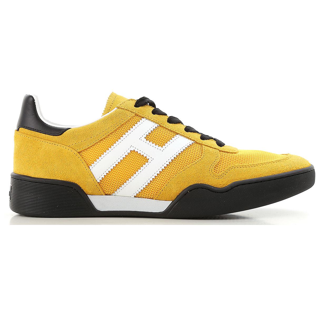 HOGAN Scarpe Uomo H357 HXM3570AC40IPJ9310 Sneaker Camoscio Giallo