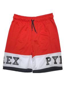 Short jr in mesh logato PYREX