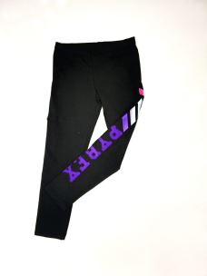 Leggings girl logo PYREX floccato