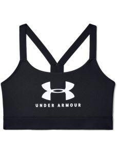 Reggiseno sportivo UA Armour Mid Sportstyle Graphic da donna