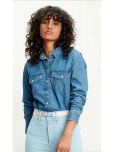 Camicia donna JEANS LEVI'S ESSENTIAL WESTERN