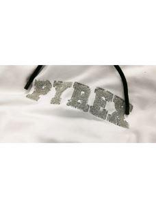 Felpa cappuccio cropped logo PYREX pajette