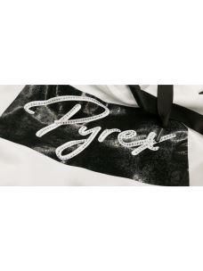 Felpa cappuccio logo PYREX con borchie