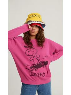 Felpa OVER SNOOPY by LEVI'S