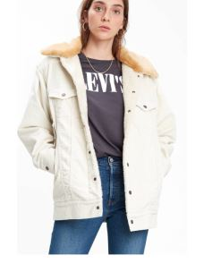 Giacchetto donna Oversized Cord For Trucker LEVI'S