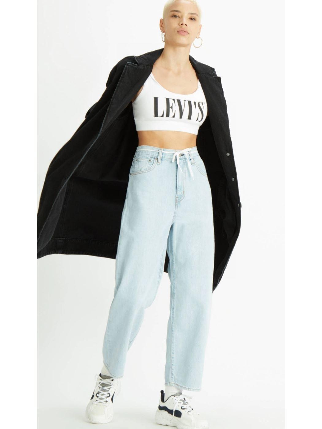Jeans w BALLOON LEG LEVI'S