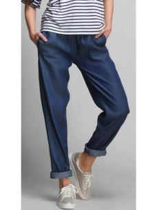 Pantalone jeans con polsino DEHA