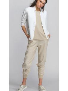 Pantalone in lino con polsino DEHA