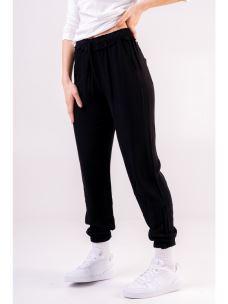 Pantalone basic donna DEHA polsino