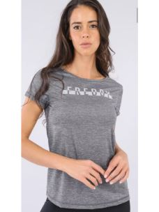 T-shirt melangiata logo FREDDY gommato
