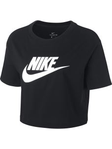 T-shirt cropped logo NIKE