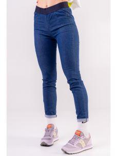 Pantalone jeans elastico parlato DEHA