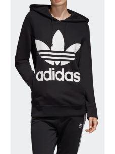 Felpa donna TREFOIL HOODIE Adidas cappuccio