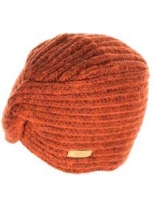 Cappello donna nodo frontale a coste a turbante Barts