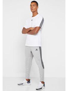 T-shirt bande schiena girocollo Adidas