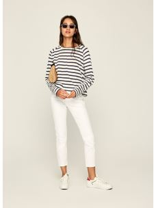 T-SHIRT A RIGHE A MANICHE LUNGHE EVELYN PEPE JEANS