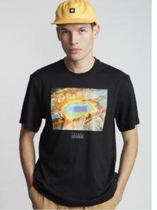 T-Shirt uomo con stampa natura ELEMENT