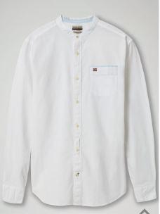 Camicia collo coreana taschino NAPAPIJRI