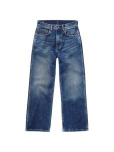 Jeans donna mom style diritto e corto PEPE JEANS