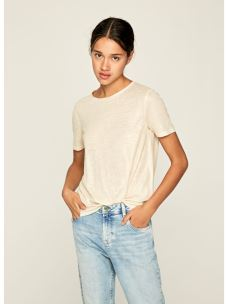 T-Shirt con filamenti lurex PEPE JEANS