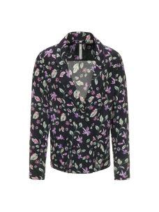Kimono corto, bavero camicia fantasia floreale PEPE JEANS