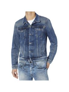 Giacca jeans uomo slim corta PEPE JEANS