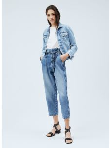 BLAIR RELAXED FIT HIGH WAIST JEANS PEPE JEANS