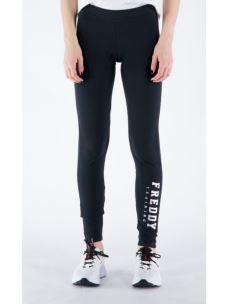 Leggings 7/8 logo FREDDY lucido verticale