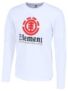 T-shirt manica lunga ELEMENT logo vertical