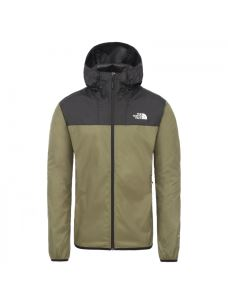 THE NORTH FACE two-tone hooded man jacket