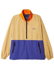 OBEY THE TUCKER ANORAK half zip jacket