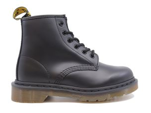 DR. MARTENS 101 SMOOTH ANFIBIO UNISEX IN PELLE NERA