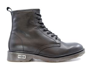 CULT 101626 OZZY MID 416 LEATHER BLACK ANFIBIO UOMO NERO